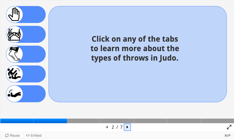 Using Tabs Interactions in E-Learning (2020) #272